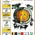 Présentation de l'affiche et des cartels - féria de carcassonne 2017.