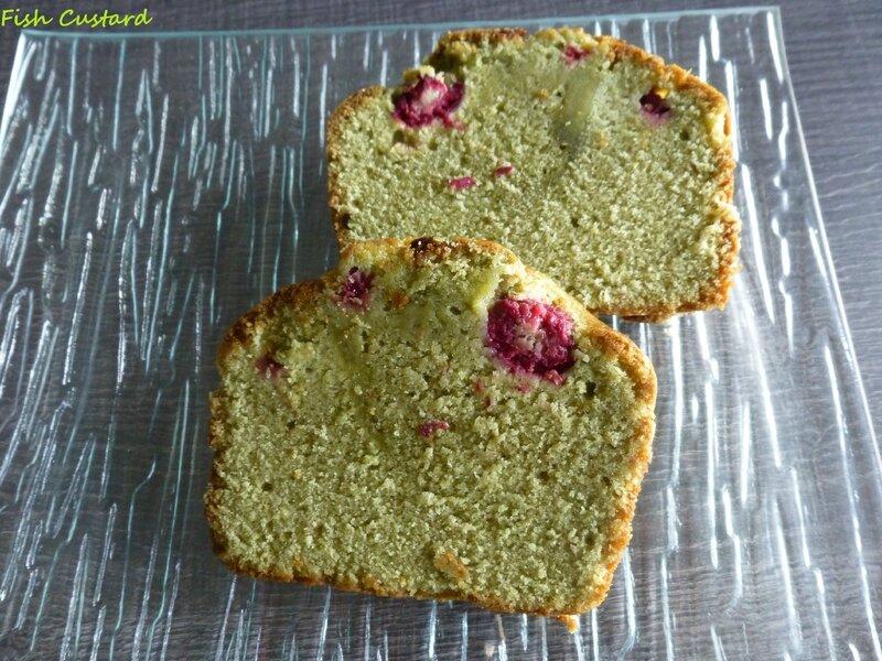 Cake au matcha et aux framboises 2 (2)