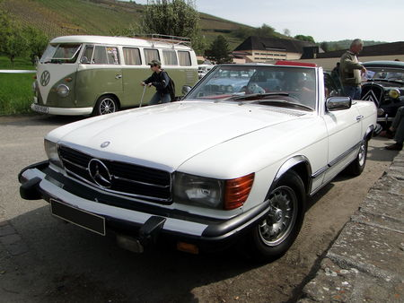 MERCEDES BENZ 560 SL Roadster version US 1982 1989 Bourse Echanges de Soultzmatt 2010 1