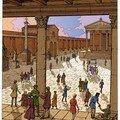Cour intérieure du Forum