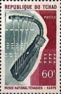 Harpe Timbre Tchad