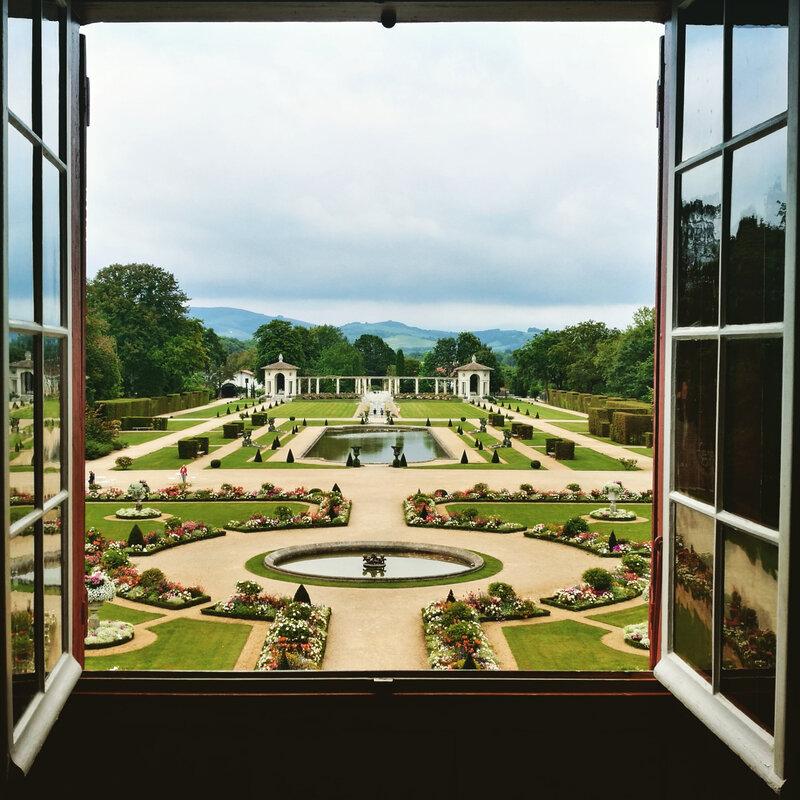 Cambo-les-Bains, Villa Arnaga, jardin français, insta (64)