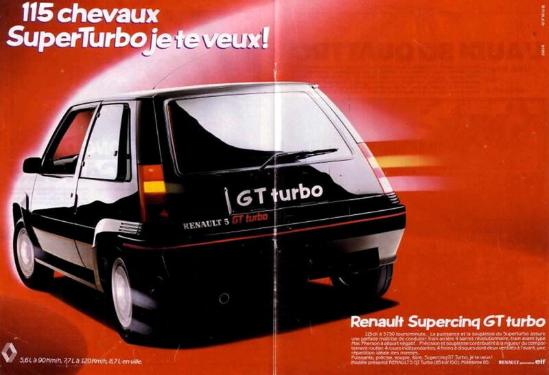 renault la french touch palmares r 5 gt turbo
