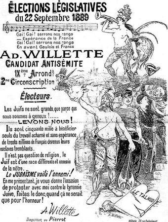 1889_French_elections_Poster_for_antisemitic_candidate_Adolf_Willette