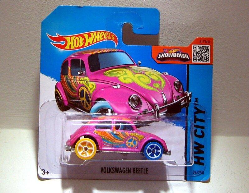 Vw beetle (TH 2015) Hotwheels