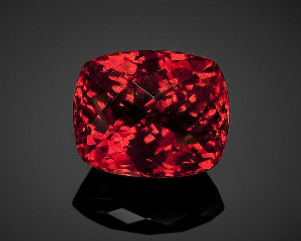 Rich Red Spessartite Garnet, Mogok, Burma