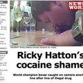 Hatton a le nez dans la poudre....finish line !?