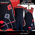 robe made in France coquelicots