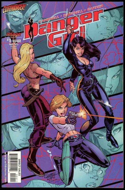 wildstorm danger girl 01