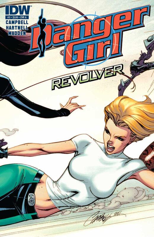 IDW danger girl revolver 03