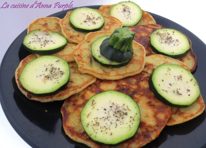 CREPES DE COURGETTES BIS - LA CUISINE DANNA PURPLE
