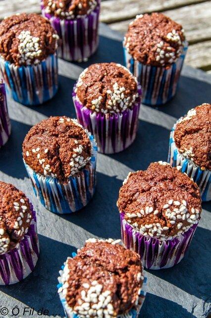 Bouchons au chocolat et au sésame 3