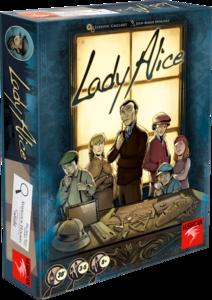 Boutique jeux de société - Pontivy - morbihan - ludis factory - Lady Alice