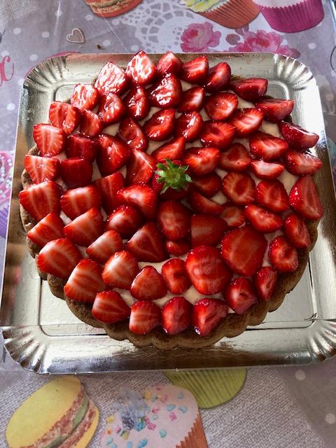 tarte fraise chiboust