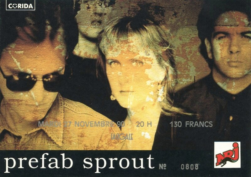 1990 11 Prefab Sprout Cigale Billet