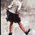Le style frais de la peinture figurative d'un artiste russe