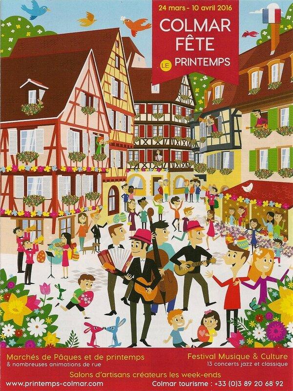 Programme Colmar Marché Pâques