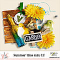Summer time mix cu par graphia bella
