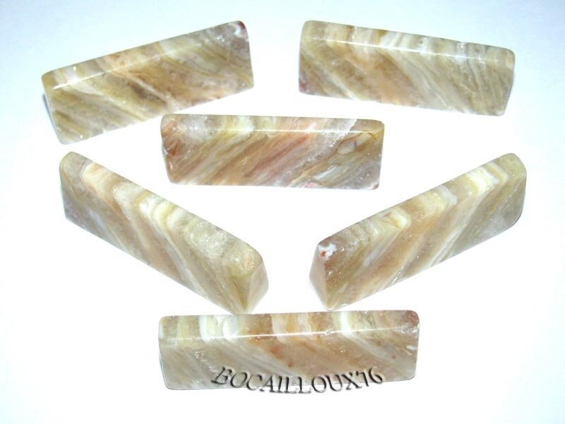 PORTE COUTEAU AGATE 14 - 42x16x9mm LOT X6 - ART DE LA TABLE