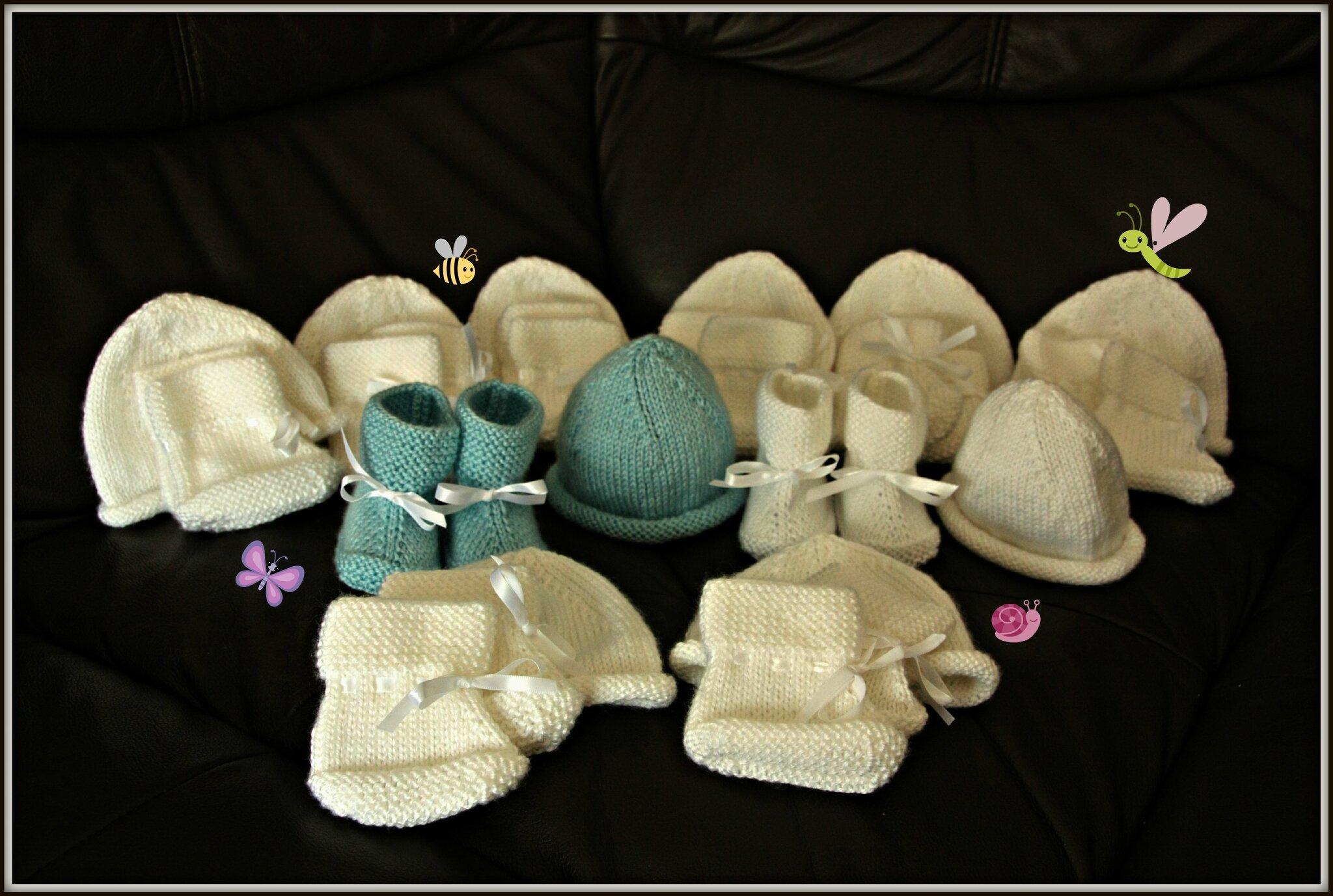 Commande exceptionnelle de chaussons et bonnets