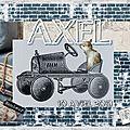 Carte Naissance 'Axel'