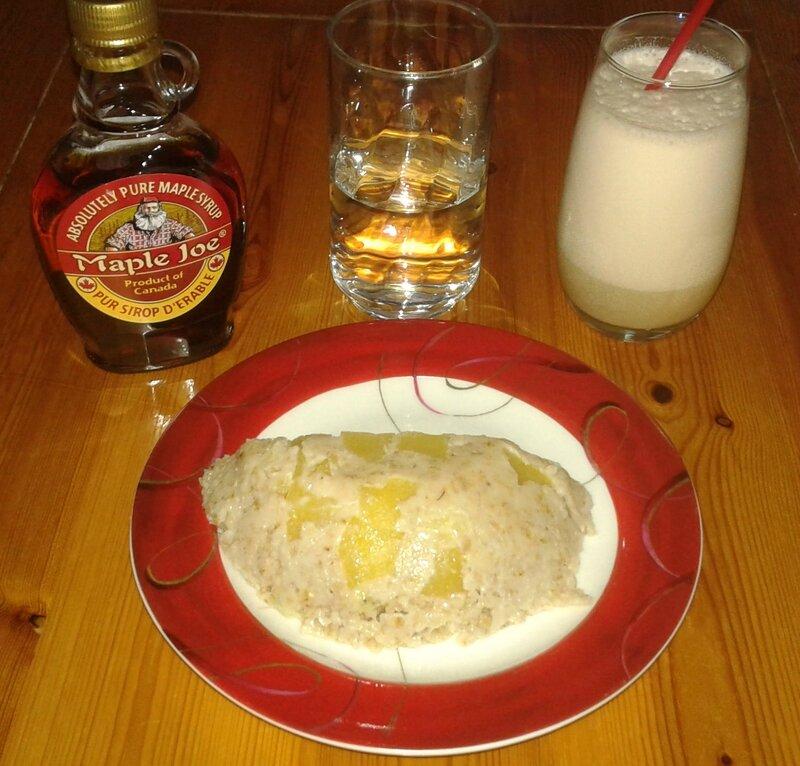 Porridge froid façon bowlcake - 5