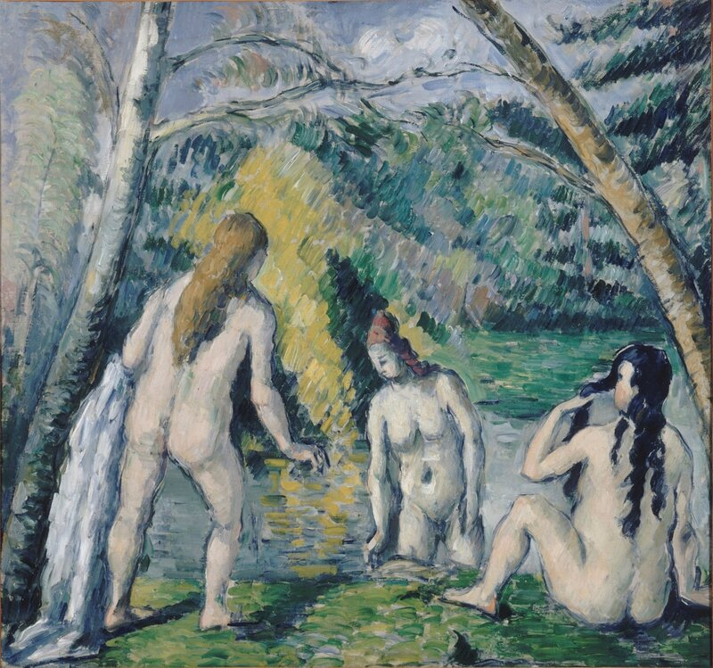Paul Cézanne, 'Three Bathers', 1879-1882