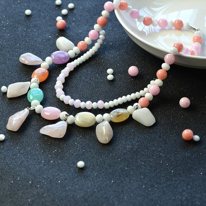 Beaded-Necklace-with-Gemstone-Beads-and-Jade-Beads-6