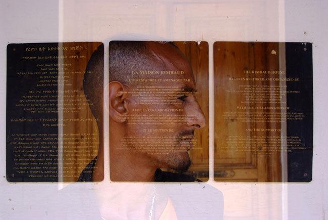 Le gardien du musée Arthur Rimbaud