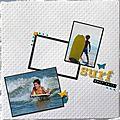 Surf en août 2011