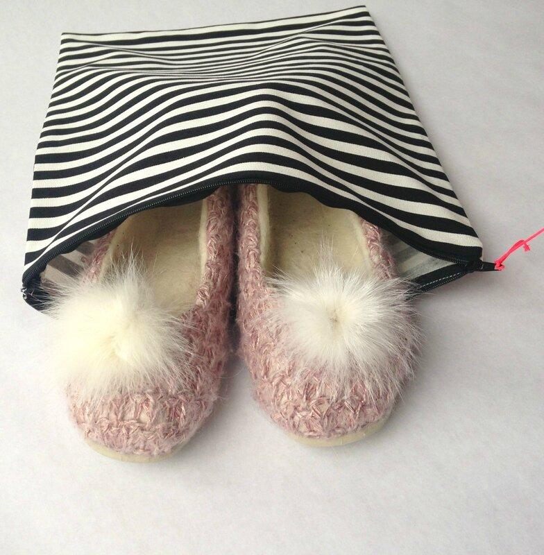 pochette chaussons pour boutique
