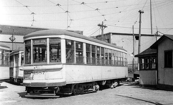 Tramway Mont-Royal garage Fullum