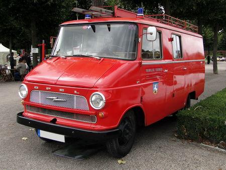 OPEL Blitz fourgon pompier 1960 1964