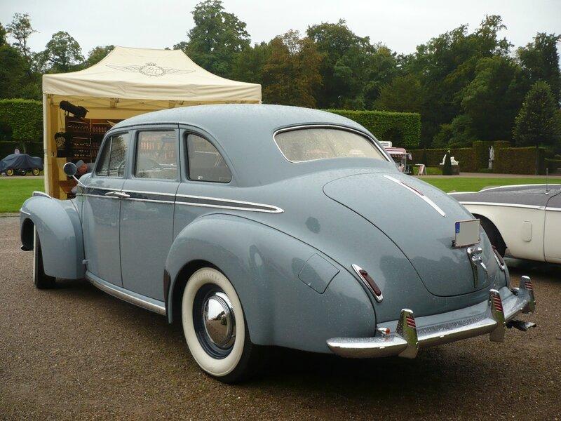 STUDEBAKER Commander Deluxe 4door Sedan 1941 Schwetzingen (2)