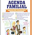 Agenda familial mémoniak (concours)...