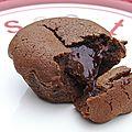 Fondant au chocolat ultra coulant