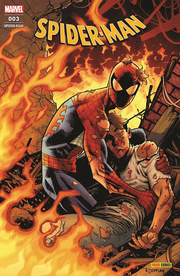 Panini Marvel Fresh start Spiderman