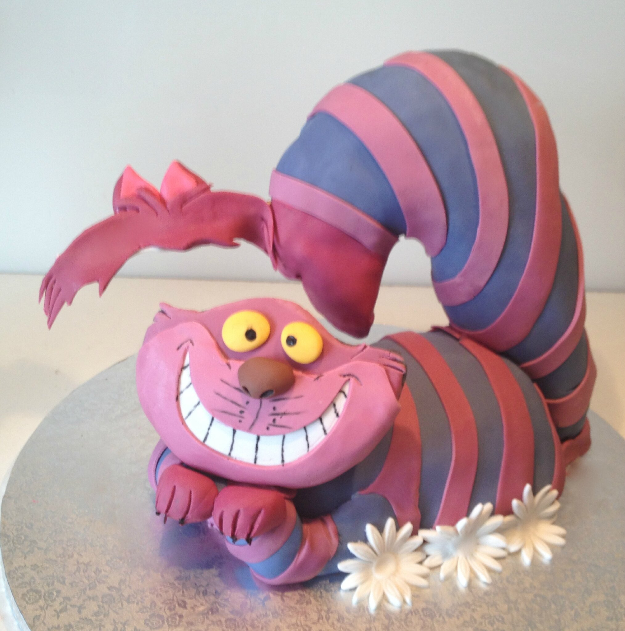 Gâteau Le Chat du Cheshire