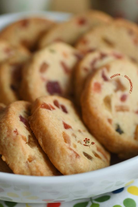 Cookies aux fruits confits_5