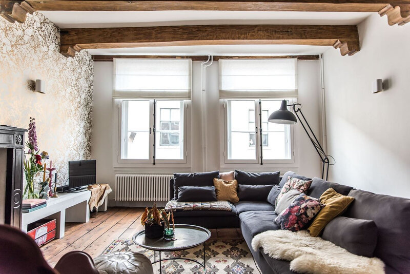 A romantic vintage apartment styling by Copparstad photos by Spinnell (11)