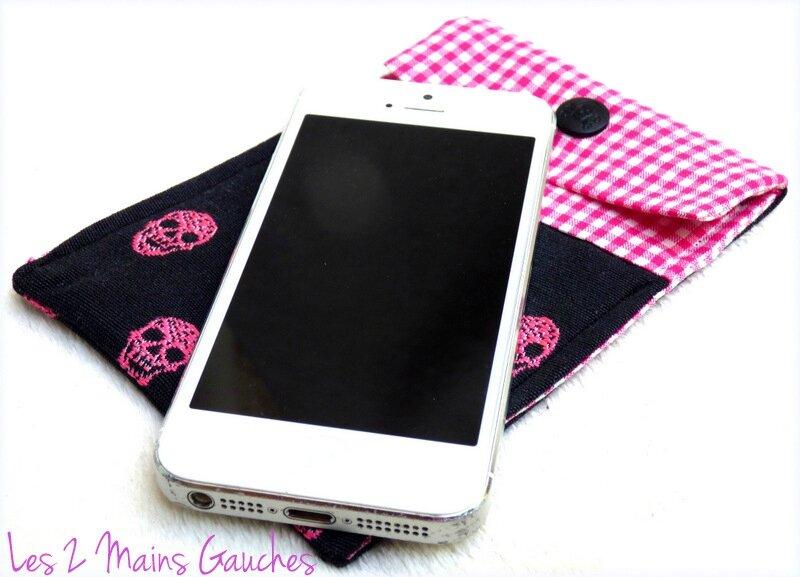 pochette i-phone girly