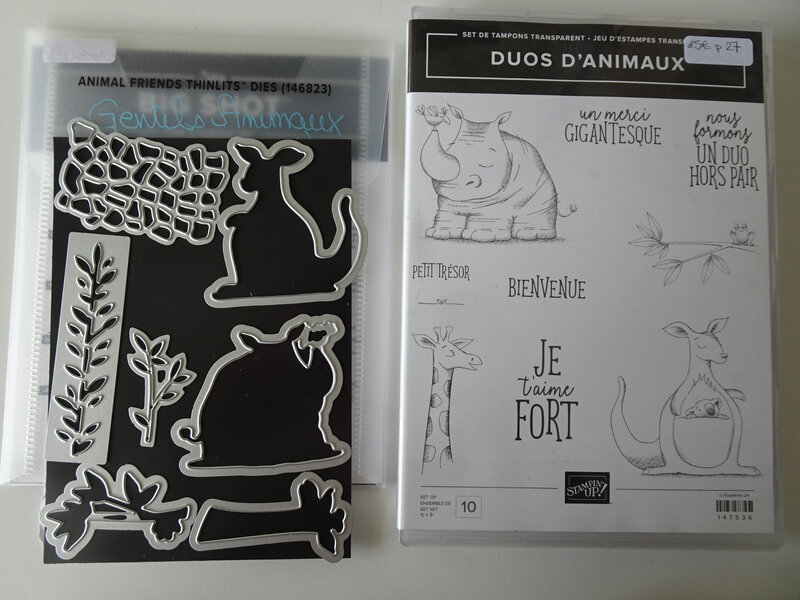 9b Lot Duos d'animaux