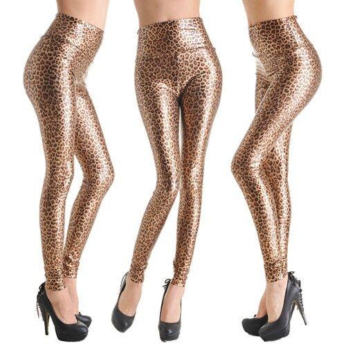 cuir leopard