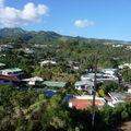 vue de l'appart sur l'intérieur de l'île
