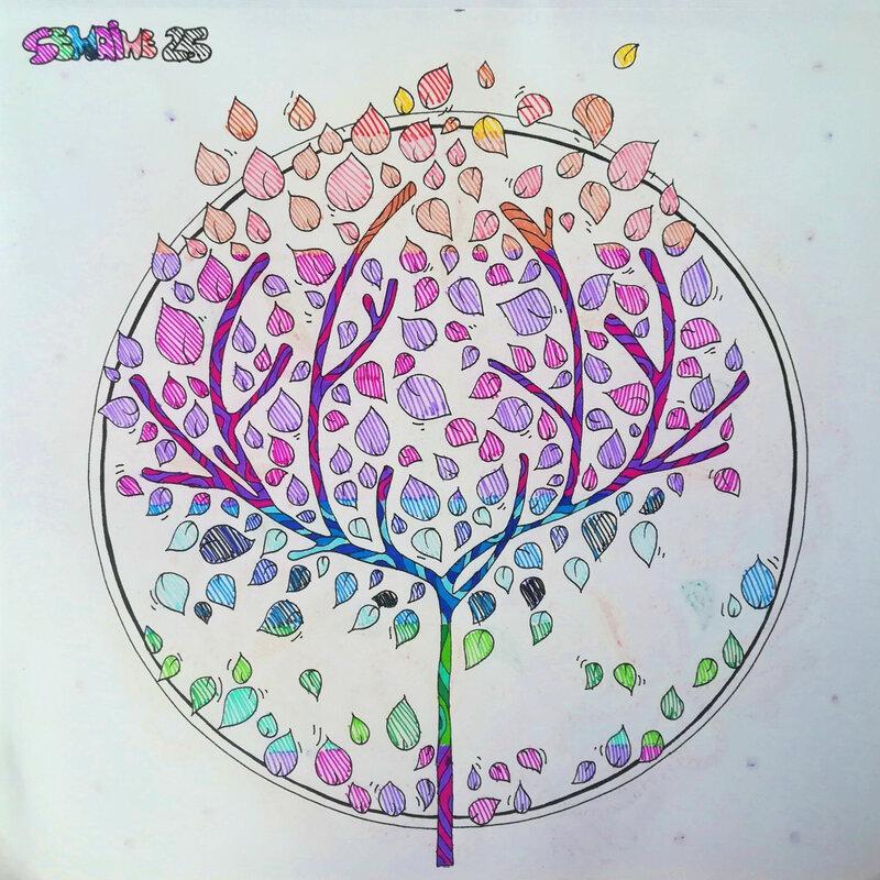Semaine 25 coloriage