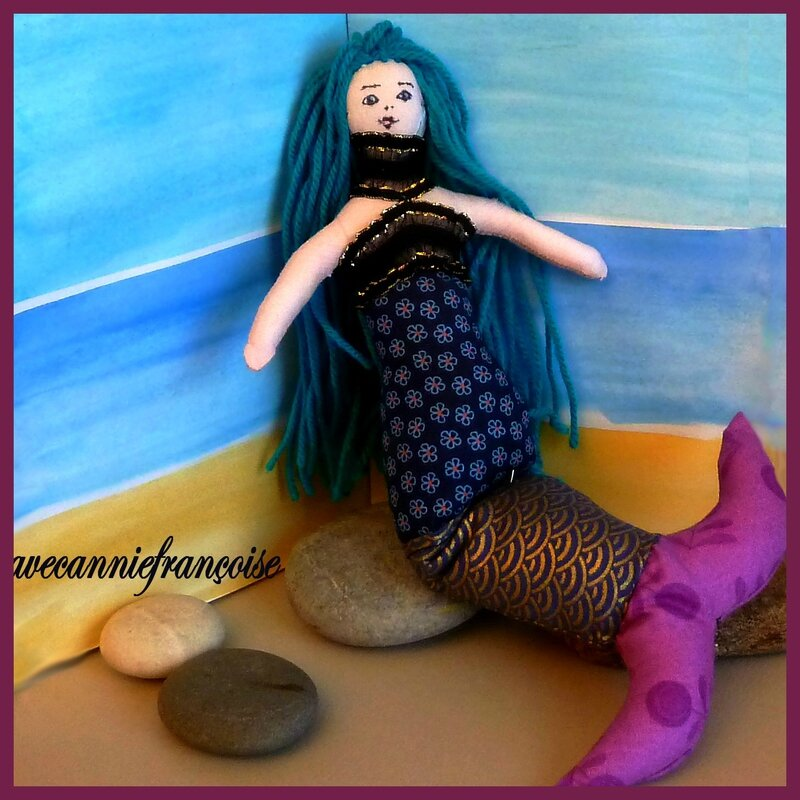 Sirène rocher carrée