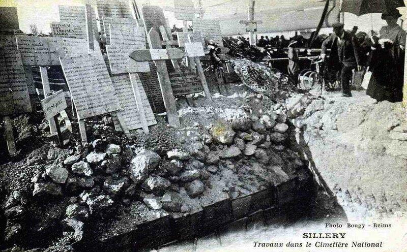 Sillery travaux dans cimetière