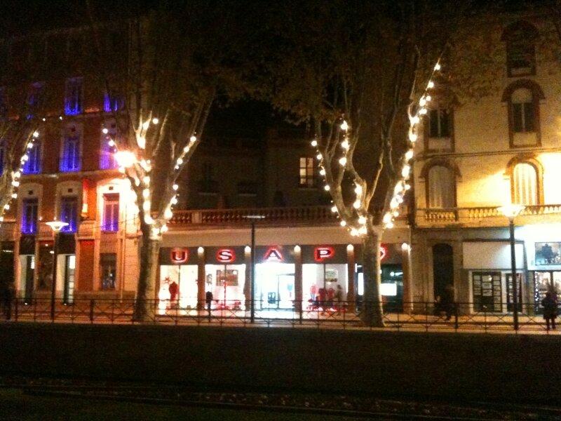 Balade nocturne à Perpignan...
