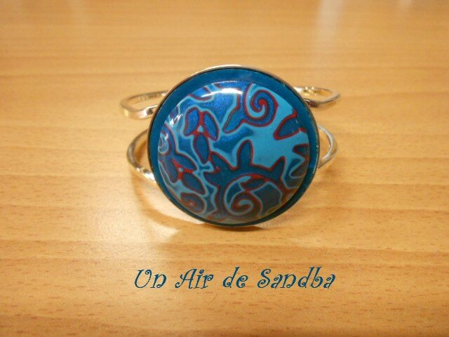 Bracelet rigide Blues