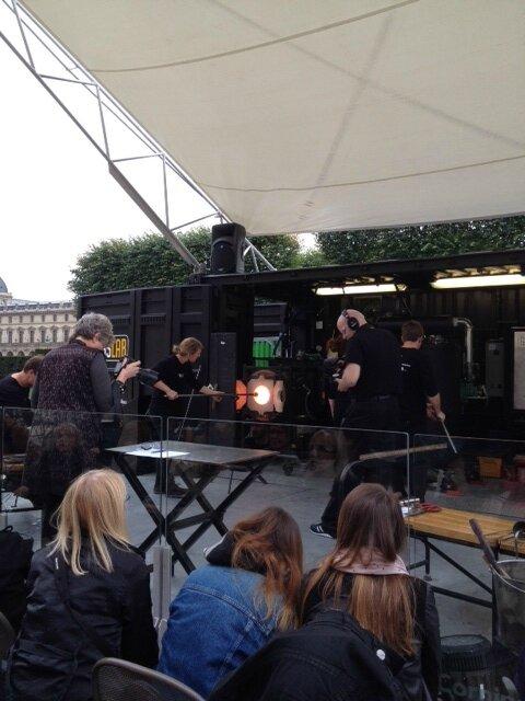 GlassLab Paris, les Arts Décoratifs, souffleurs de verre 10